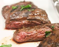 Grilled Bison Skirt Steak | The Daily Meal