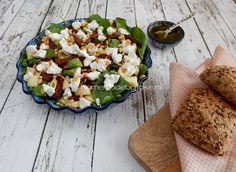Homemade by Joke: Geitenkaas maaltijd salade