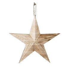 Wooden star 44cm