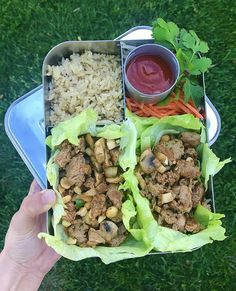 Delicious Asian Turkey Lettuce Wraps