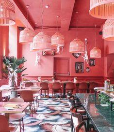 The Streetfood Club Utrecht - Barts Boekje Pink Restaurant, Luxury Restaurant, Restaurant Design, The Simple Life, Pink Club, Interior Decorating, Interior Design, Red Interiors, Utrecht