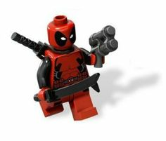 Lego Marvel Super Heroes Deadpool Minifigure « Game Searches