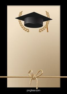 Black And Golden Happy Graduation Hat Background – Eazy Balloon Background, Bright Background, Creative Background, Background Patterns, Wood Background, Graduation Album, Graduation Diy, Graduation Party Invitations, Graduation Picture Poses