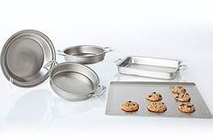 5-Piece Stainless Steel Bakeware Set