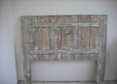 1000 id es sur t te de lit en bois peint sur pinterest - Tete de lit en bois de recuperation ...