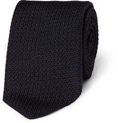 Drake's - Slim Silk-Grenadine Tie | MR PORTER