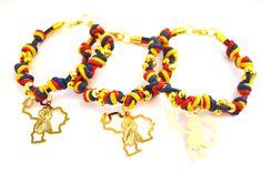 Bellas #pulseras con un estilo sin igual que te encantarán #accesorios #bisuteria #prendas #pulsera #venezuela #caracas #diseño #mapa #tricolor