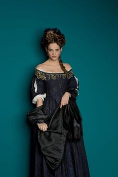 Noémie Schmidt as Henriette, 'Madame', in Versailles (TV Series, 2015). [x]