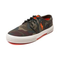 low priced 8ce97 b32e8 Shop for Mens Faxon Casual Shoe by Polo Ralph Lauren, Olive Camo, at  Journeys
