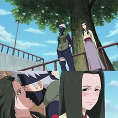 Naruto Shippuden: Kakashi and Hanare I wish it became cannon, Hanare seemed like a potential love interest for Kakshi