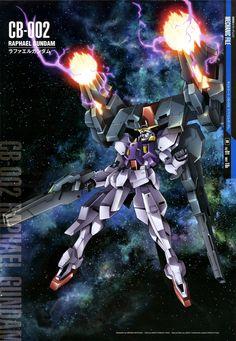 Mobile Suit Gundam Mechanic File - CB-002 Raphael Gundam