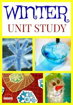 Love these ideas! Winter Unit Study - includes free printables, lesson plans, lots of clever ideas and activities to make learning fun. Preschool Learning Activities, Preschool Themes, Winter Activities, Children Activities, Christmas Activities, Stem Activities, Classroom Themes, Educational Activities, Kindergarten Units
