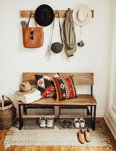 mudroom entry styling