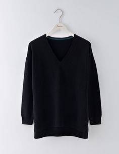 Size sm Textured V-neck Sweater WV112 Knitted Sweaters at Boden