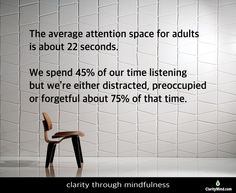 Helping leaders develop clarity through mindfulness training to be fully present, work smarter not harder for maximum business results. Mindfulness Training, Psychology Facts, Statistics, Space, Floor Space, Big Data, Spaces