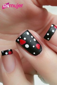¡Luce unas #Uñas hermosas en San Valentín,checa estas adorables decoraciones! Nailart, Tips Belleza, Make Up, Beauty, Beautiful Nail Designs, Nail Techniques, Nail Designs, Skin Care, Gel Nails