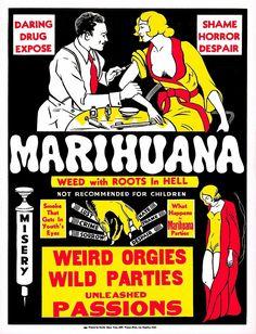 'Vintage Hollywood Nostalgia Marihuana Cannabis Marijuana Film Movie Advertisement Poster' by jnniepce Vintage Humor, Vintage Movies, Weed Posters, Reefer Madness, Wall Art Prints, Poster Prints, Vintage Travel Posters, Retro Posters, Ganja