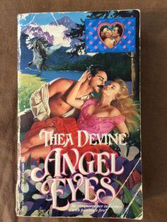 Vintage 1991 Angel Eyes Thea Devine Paperback Book Historical Romance Zebra   eBay