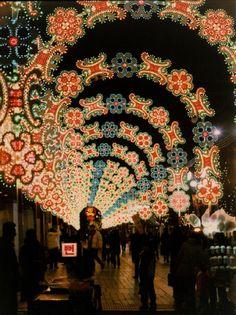 Seoul, South Korea Photo Credit: James Creegan Amazing Christmas Light Display.