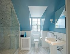 Sloped Wall Bathroom Design Ideas, Pictures, Remodel and Decor