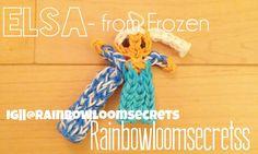 Rainbow Loom Elsa from Frozen