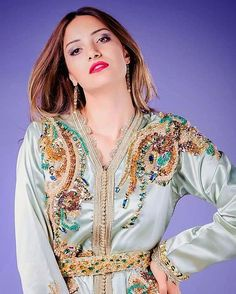 """45 Likes, 1 Comments - haut couture marocain (@salima_asbai) on Instagram: """"..♡"""""""