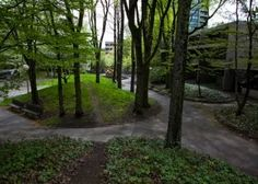 Remembering Lawrence Halprin (or at least some of his projects) Landscape And Urbanism, Urban Landscape, Landscape Design, Pond Design, Fence Design, Lawrence Halprin, Jogging Track, Hillside Landscaping, Hill Park