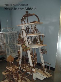 Amazing Gyms from Nature's Bird Perch and Toys   Avian Avenue Parrot Forum