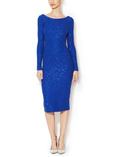 Silk Cotton Sequin Embellished Dress from Dress Shop: Special Occasion Dresses on Gilt