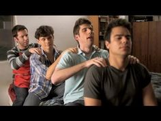 """Guy Time: Episode 3 """"Guy Advice""""  You can't call your girlfriend during guy time.    #humor"""
