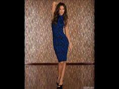 ▶ Vestido largo negro y azul. ¡Estamos de moda! - YouTube  http://www.xeitosomoda.com https://www.facebook.com/xeitosomoda