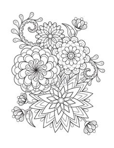 Mandalas To Color Coloring Pages For Grown Ups, Free Adult Coloring Pages, Flower Coloring Pages, Mandala Coloring Pages, Coloring Pages To Print, Free Printable Coloring Pages, Coloring Book Pages, Coloring For Adults, Mandala Drawing