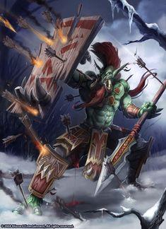 http://samwisedidier.deviantart.com/art/Warcraft-Nok-tal-the-Savage-450356837
