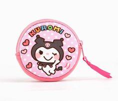 My Melody & Kuromi Coin Purse: Blush