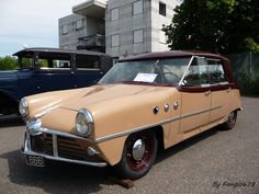 Mathis type 666 1948 (6 places, 6 cylindres, 6 vitesses) by fangio678, via Flickr