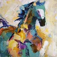 Summer Horse 2 by Texas Artist Laurie Pace $100