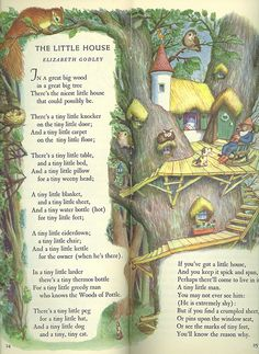 From The Tall Book of Make Believe Selected by Jane Werner Pictures by Garth Williams Copyright 1950 I Love Garth Williams! He illustrated a lot of Golden books and then also did the original illustrations for the Little House books. English Stories For Kids, English Story, English Lessons, Nursery Rhymes Poems, Poetry For Kids, Pomes, Kids Poems, Children's Literature, Children's Book Illustration