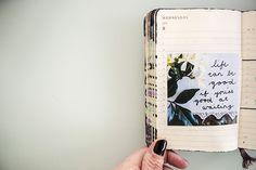 "writingnotebooks: "" Uses for Moleskine Daily Planner via Caylee Grey "" Bujo Inspiration, Art Journal Inspiration, Photo Album Scrapbooking, Scrapbook Albums, Moleskine, Commonplace Book, Journaling, Beautiful Notebooks, Mixed Media Journal"