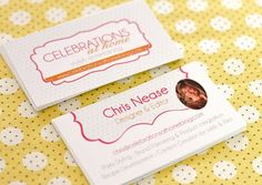 CAH business cards from Paper & Pigtails