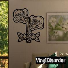 Celtic Ornament Wall Decal - Vinyl Decal - Car Decal - SM082