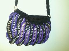 soda can top crochet purse by my mom on Etsy, $40.00