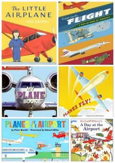 Free paper airplane printables, plane crafts for kids and the best airplane books for those pint-size travelers! Preschool Books, Preschool Activities, Best Children Books, Childrens Books, Plane Crafts, Transportation Unit, Tot School, Summer School, Children's Literature