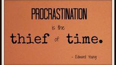 Procrastination can make or mar your career. Well, procrastination and career do not go along well together.