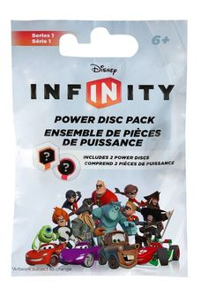 Disney Infinity Power Disc Packs (2) New/Sealed~ Fun Suprise ~Series 1 & 2 Packs #DisneyDisney Video Games Accessory Packs Infinity $2.99 + $2.99 S/H = sold!! Get yours today before the holiday rush !!!