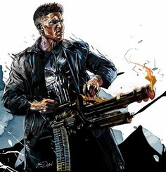 The Punisher/Frank Castle (Jon Bernthal/Marvel/Netflix) Punisher Marvel, Marvel Dc Comics, Marvel Fanart, Punisher Netflix, Bd Comics, Marvel Heroes, Captain Marvel, Daredevil, Punisher Logo