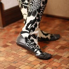 I'll take 'em!     Knee High Boots with VictorianStyle Side Snaps Recycled by uku2, $177.00