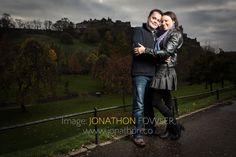 #Edinburgh #engagement shoot #pre-wedding photos #princes street gardens