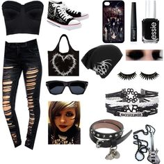 """bvb outfit"" by iamandybiersackgirl on Polyvore"