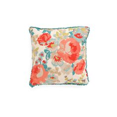 20x20 Floral Chainstitch With Fringe Pillow (34 CAD) ❤ liked on Polyvore featuring home, home decor, throw pillows, floral toss pillows, fringed throw pillows, floral throw pillows, flowered throw pillows and floral accent pillows