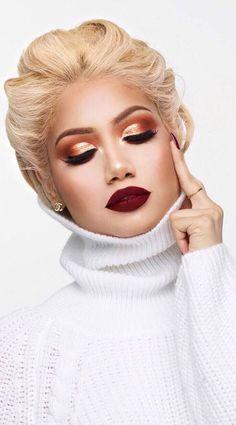 stylish makeup idea
